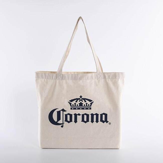 Customized Logo Printed Cotton Shopping Tote Bag